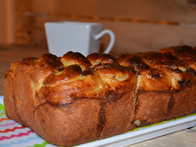 Brioche con Chocolate