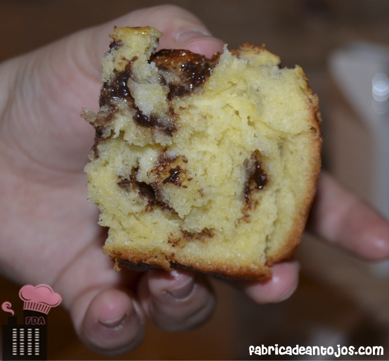 201401 21 Brioche con Chocolate 4