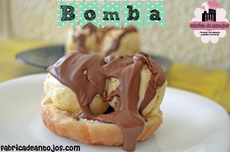 201404 7 Bomba con Helado de Donuts 2
