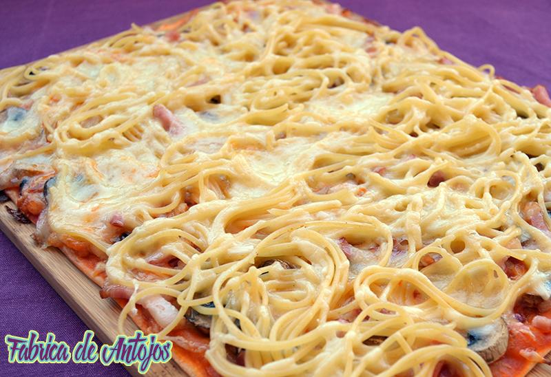 201606 21 Pizza con spaguettis 4