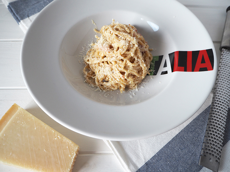 Fabrica de Antojos - Espaguetis a la carbonara
