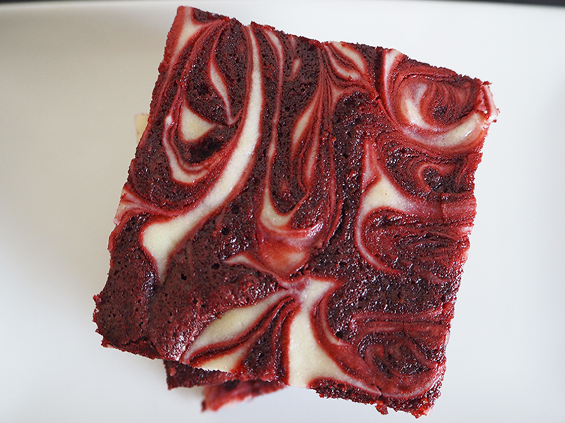 Fabrica de Antojos - Brownie Red Velvet Cheesecake