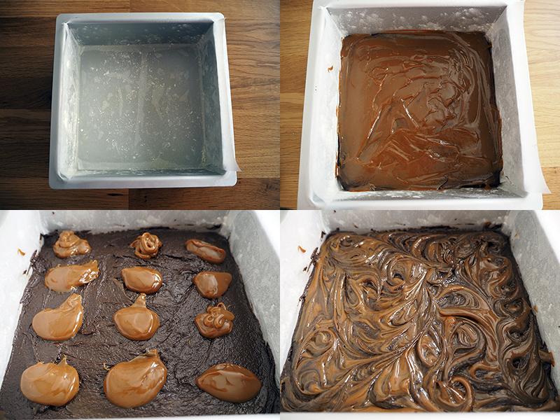Fabrica de Antojos - Brownie con dulce de leche