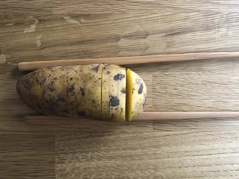 Fabrica de Antojos - Patatas Hasselback