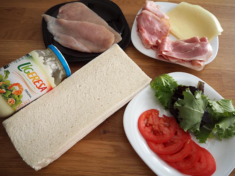 Fabrica de Antojos - Sandwich Club