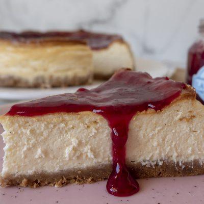 Cheesecake de Vainilla - Fabrica de Antojos