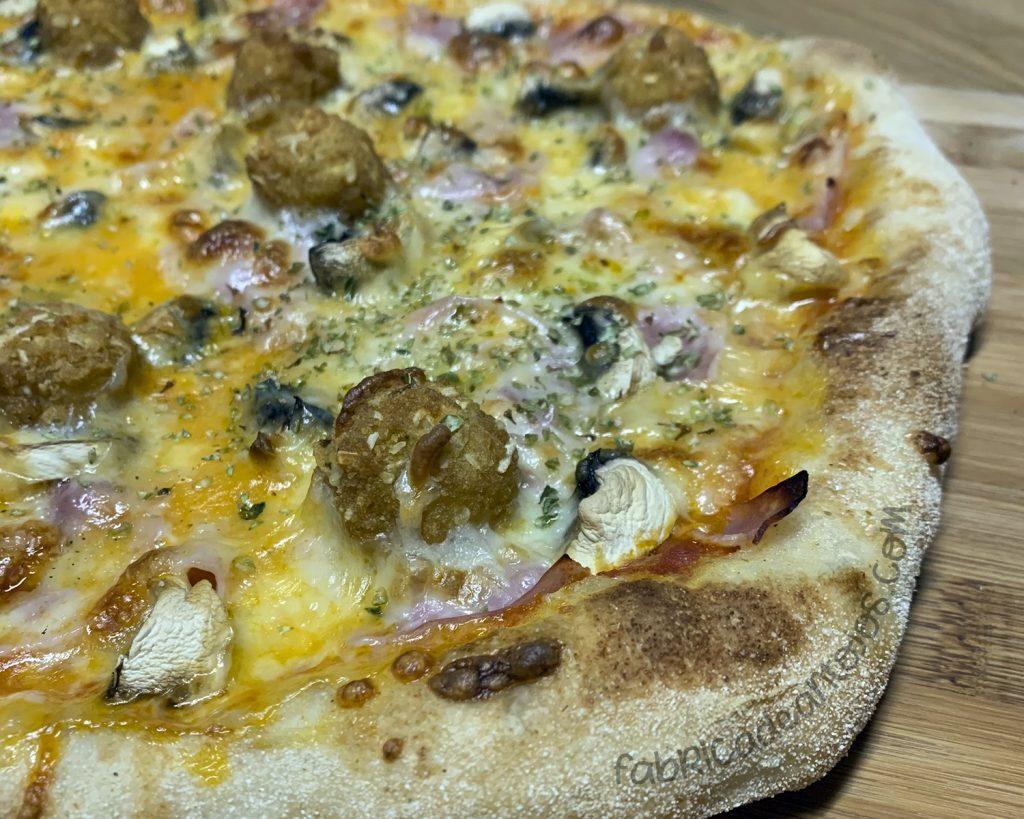 Masa de pizza fermentación lenta - Fabrica de Antojos