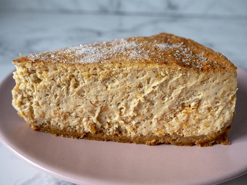Cheesecake con calabaza