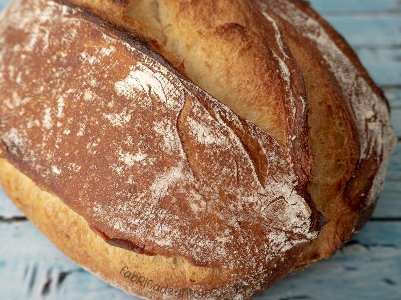 Pan facil sin amasado - Fabrica de Antojos