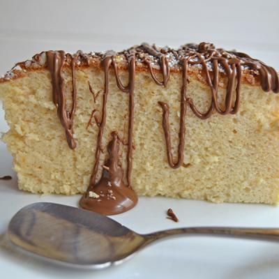 Cheesecake Japones (Pao de Castella)